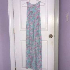 "YOUTH Lilly Pulitzer ""Lobstah Roll"" Maxi Dress"
